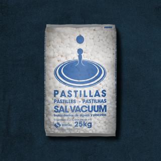 PASTILLAS DE SAL VACUUM 25KG